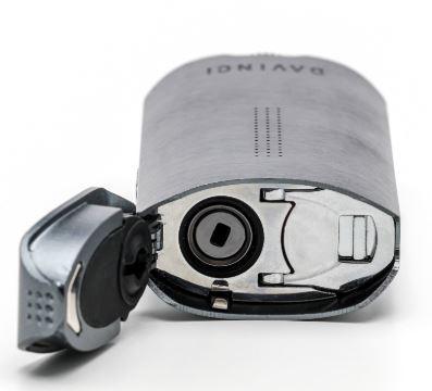 Vaporizer DAVINCI IQ2 z otwartym dolnym wieczkiem