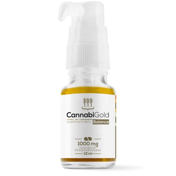 Olej CBD 1000 mg Cannabigold