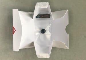 Tacka origami do mieszania haszyszu