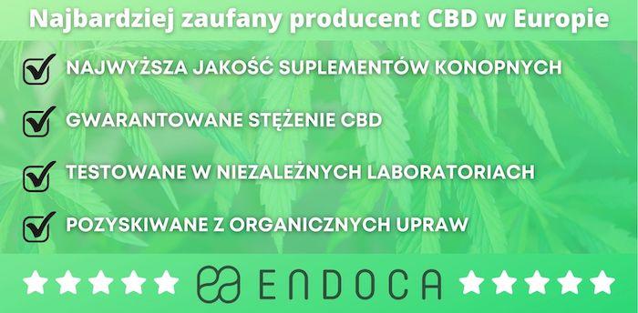 Endoca - zadufany producent CBD
