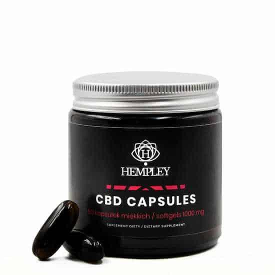 Kapsułki CBD Hempley
