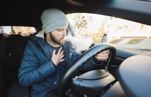 Waporyzacja w samochodzie